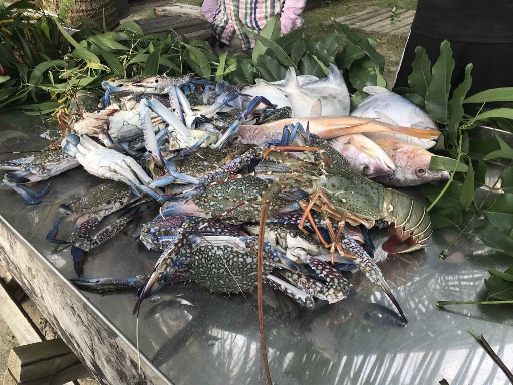 pesce-crostacei-grigliata