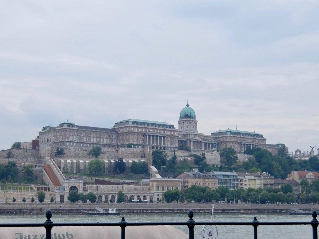 Il castello di Buda visto da Pest