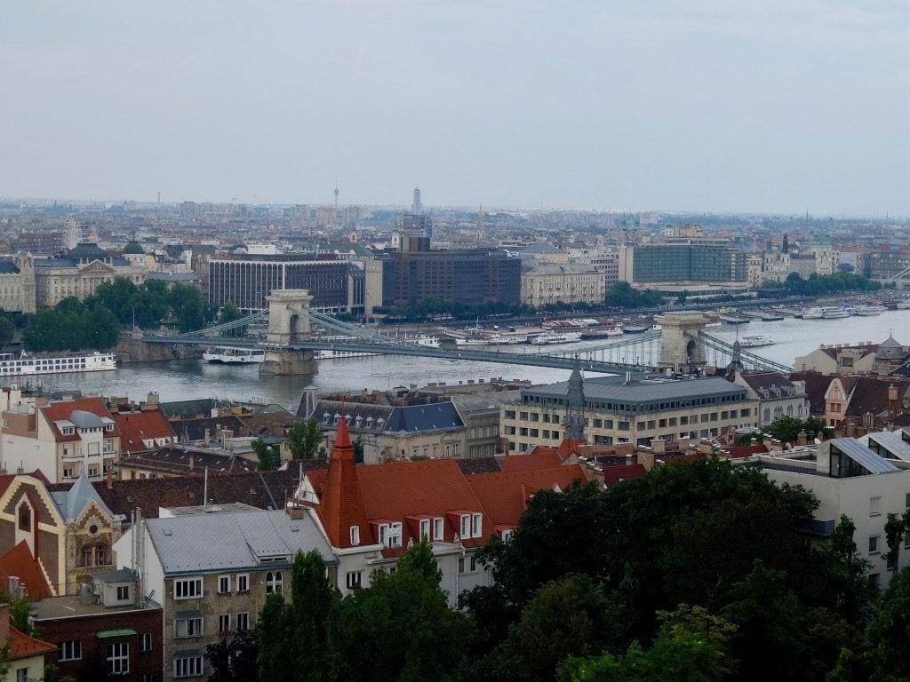 Il Ponte delle Catene visto da Buda