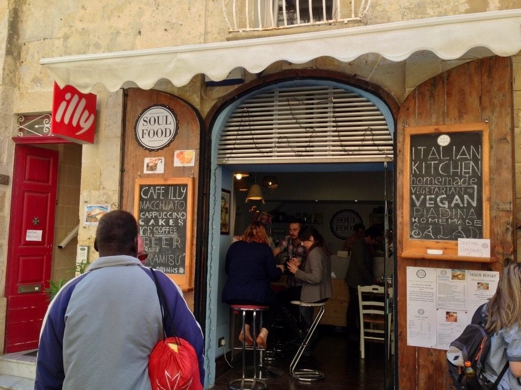 Soul Food a Valletta