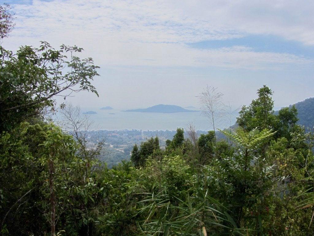 La vista sulle isole della Cambogia dal Parco Nazionale di Kep