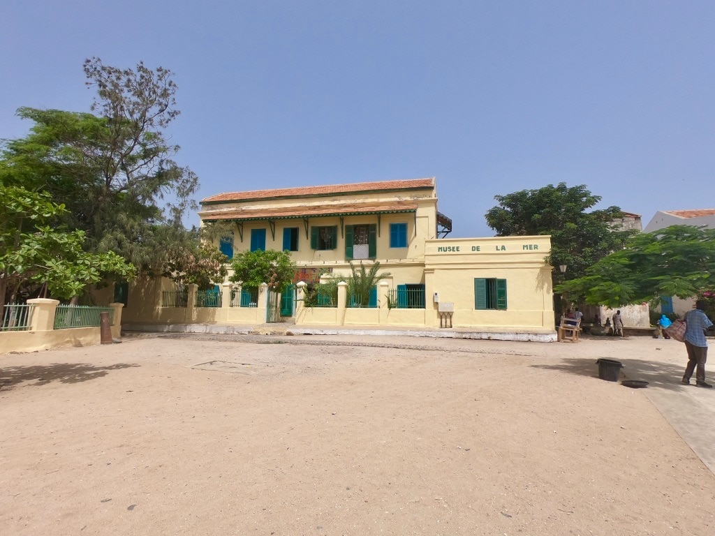 Il museo del mare a Gorée