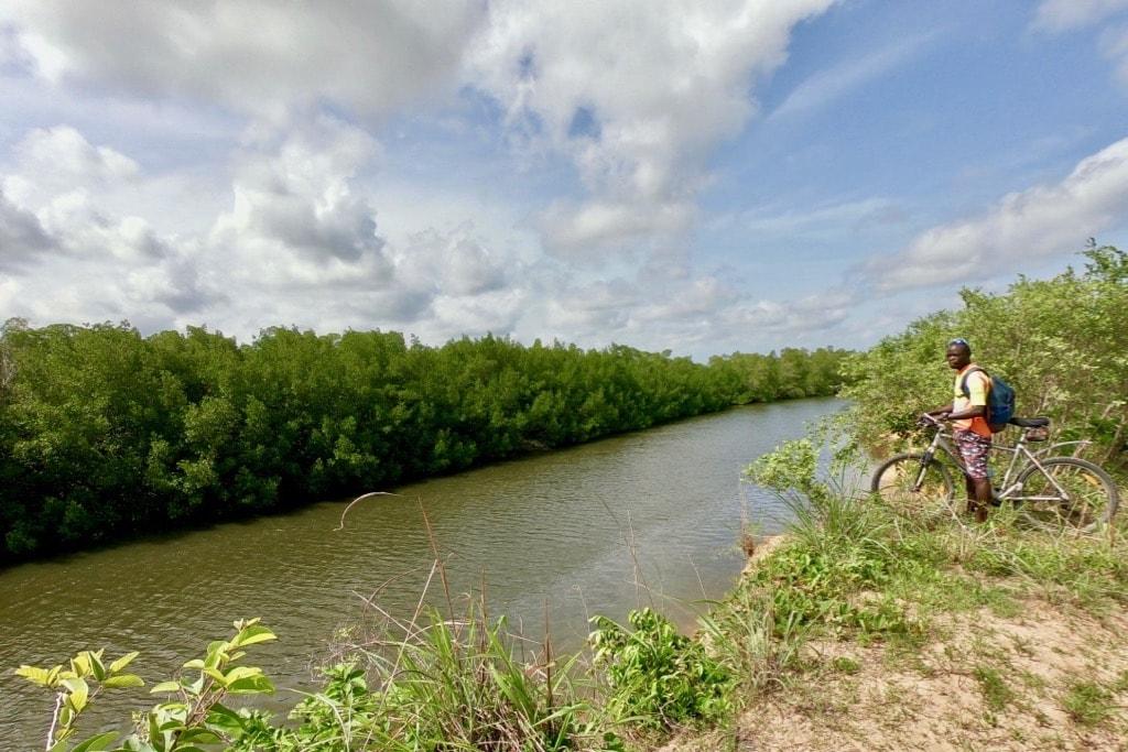 Il fiume Casamance e la guida di Casamance VTT