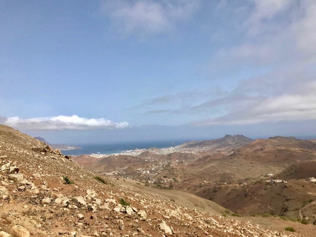 Mindelo vista da Monte Verde