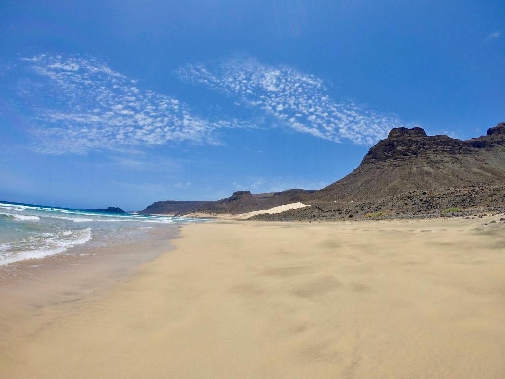 spiaggia tra Baìa das Gatas e Calhau a Sao Vicente