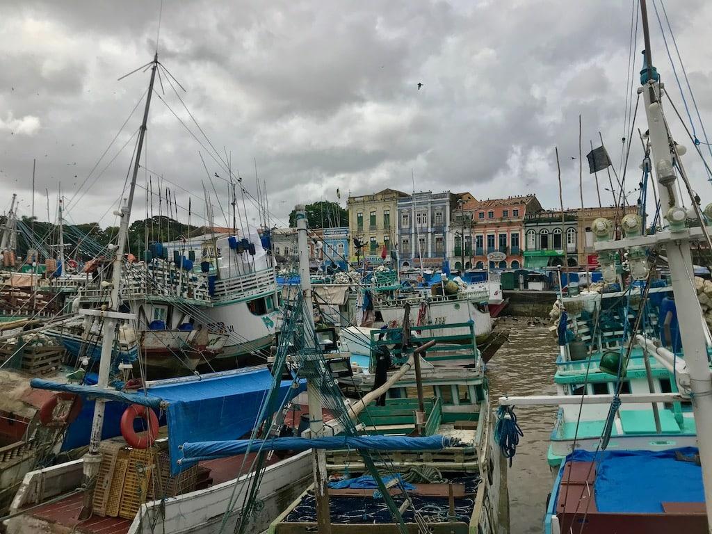 Barche di pescatori a Belém