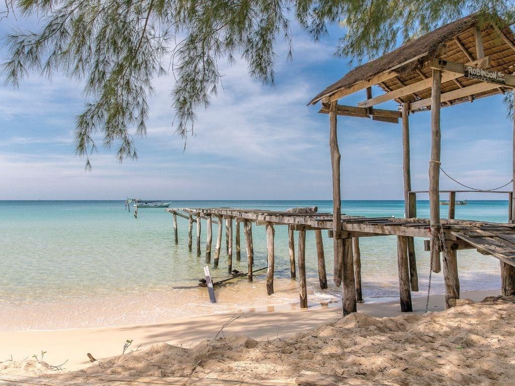 koh rong samloem cambogia spiaggia