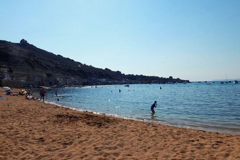 spiagge di malta gnejna bay
