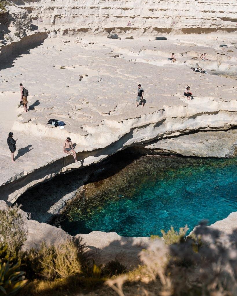 cose da vedere a malta in 3 giorni: st. peter's pool
