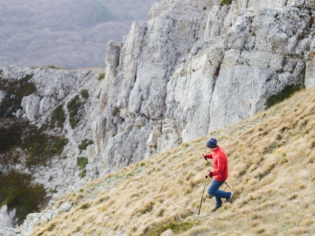 bastoncini trekking ultraleggeri