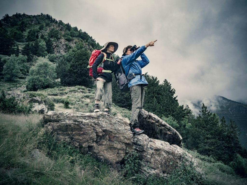 binocoli da montagna