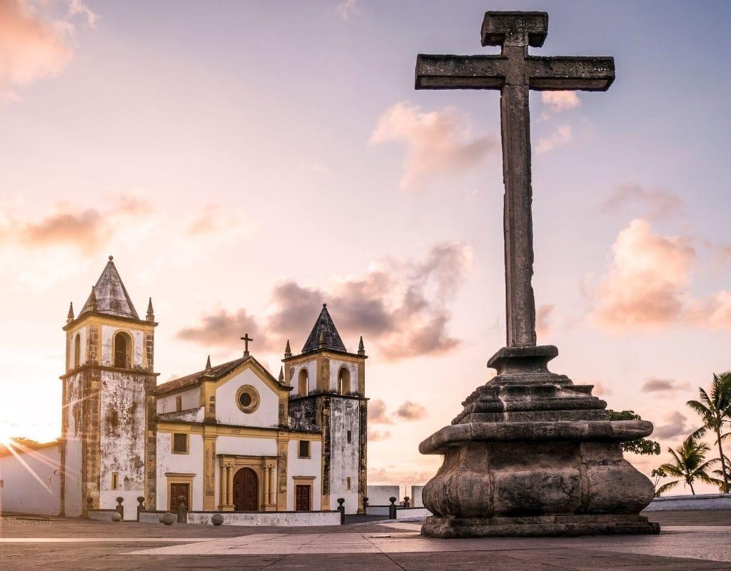 olinda brasile chiesa