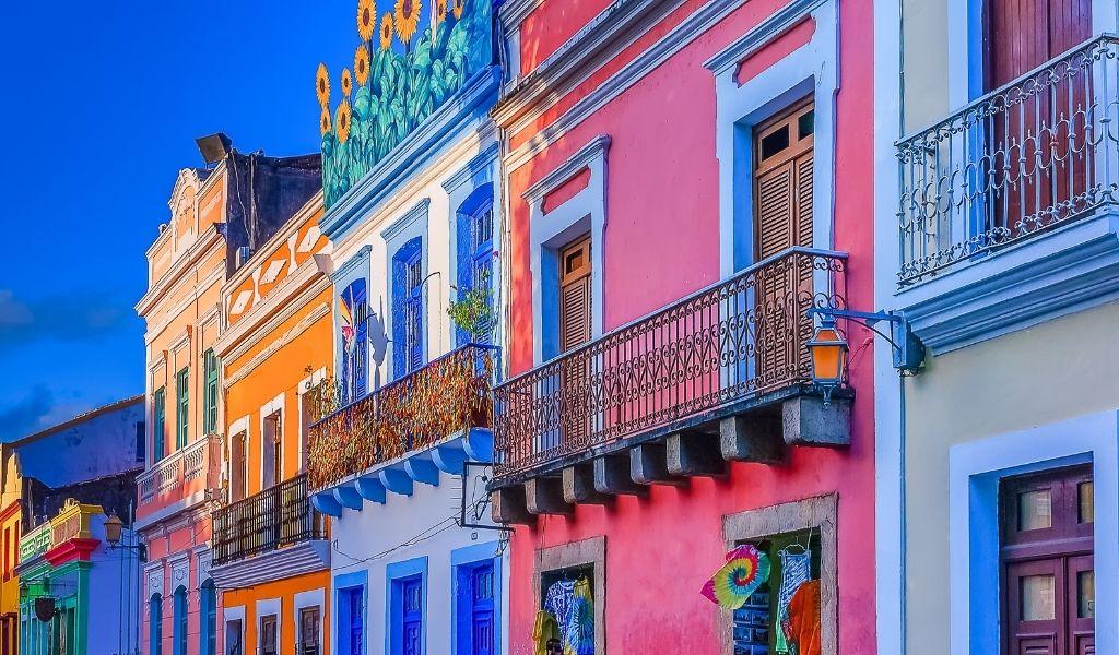olinda brasile case colorate