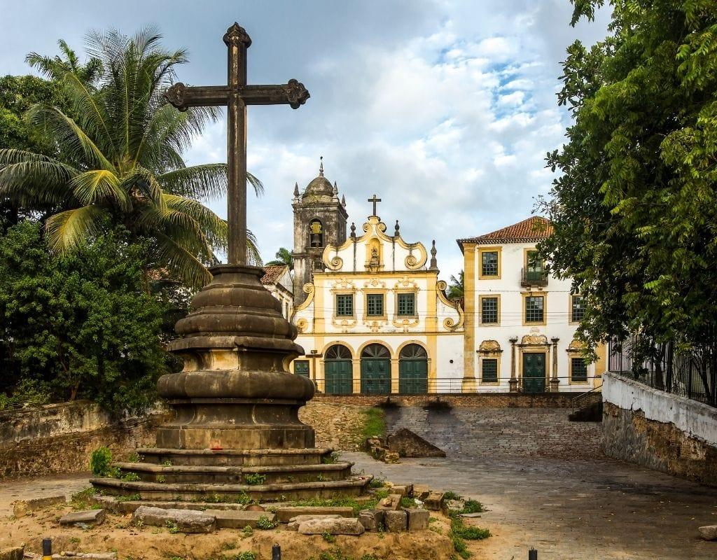 olinda brasile croce chiesa