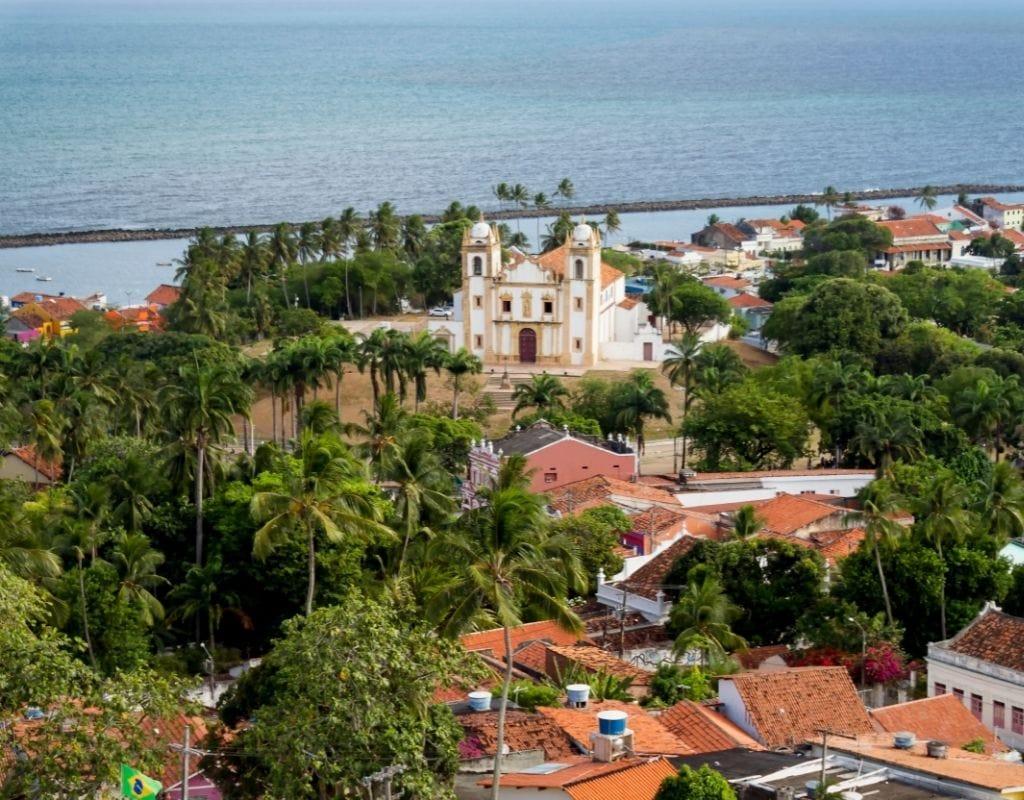 olinda brasile mare chiesa